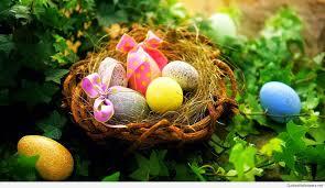 Eostre spring nest basket